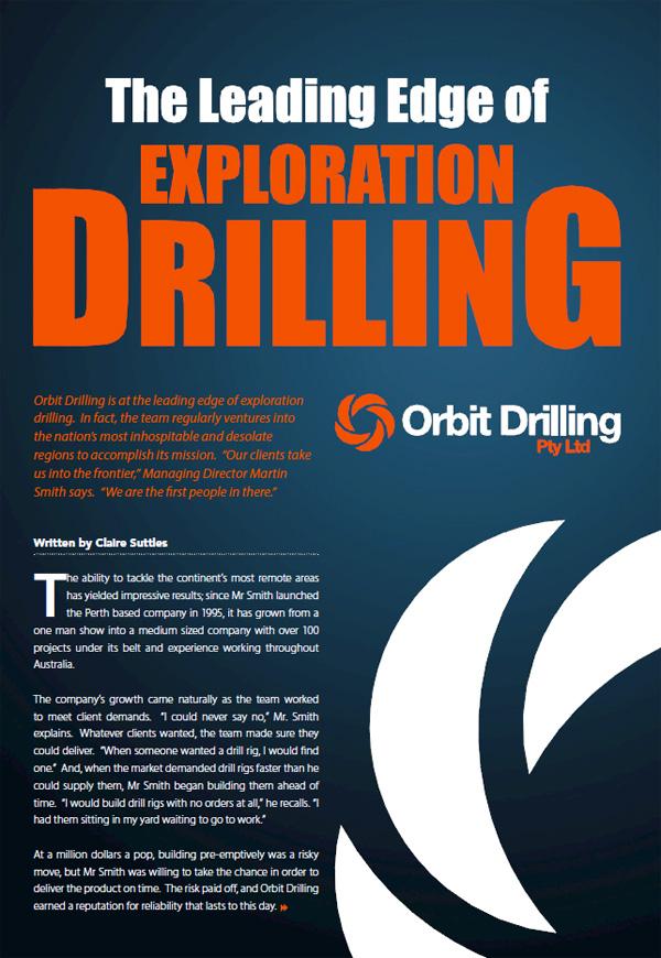 Orbit Drilling Pty Ltd - Specialist Drilling Australia wide